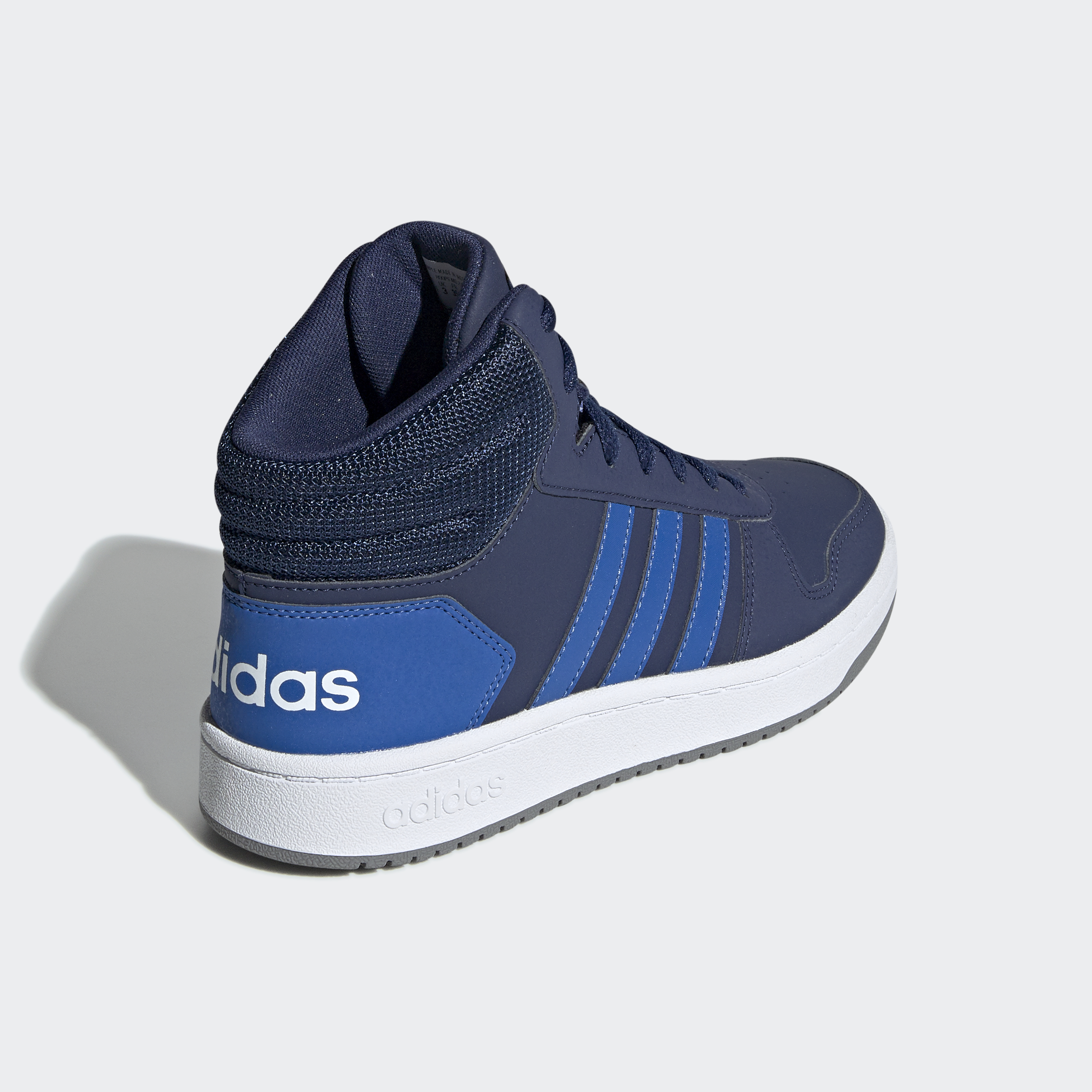 adidas-Hoops-2-0-Mid-Shoes-Kids-039-High-Tops thumbnail 11