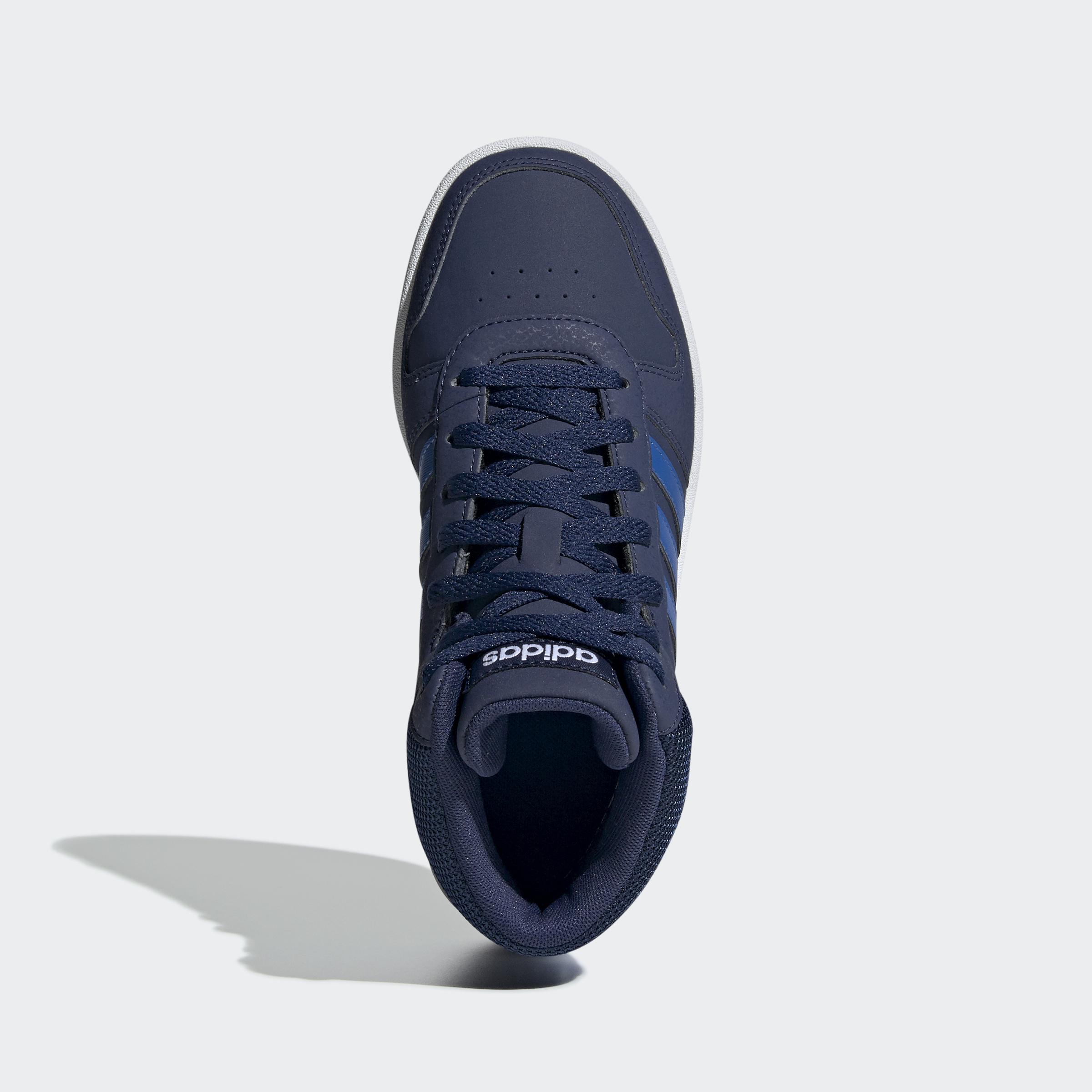 adidas-Hoops-2-0-Mid-Shoes-Kids-039-High-Tops thumbnail 12