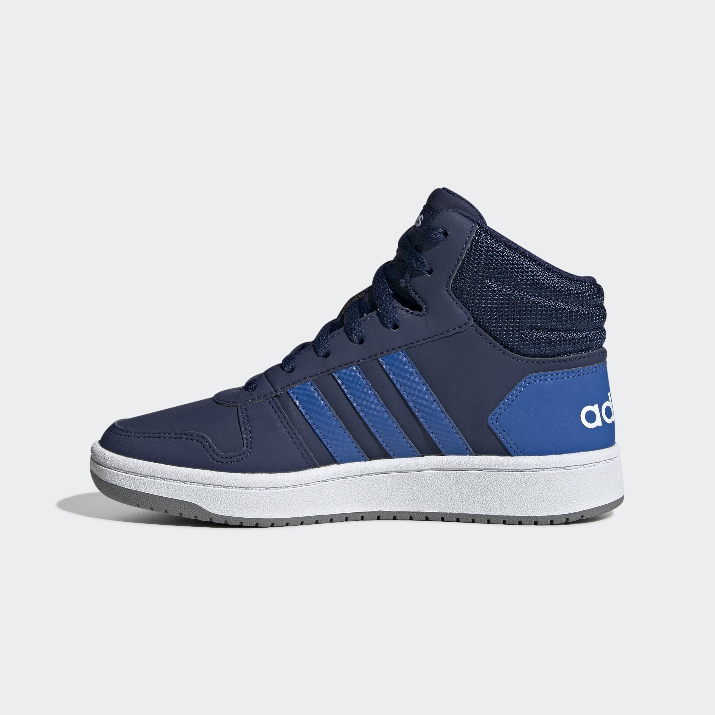 adidas-Hoops-2-0-Mid-Shoes-Kids-039-High-Tops thumbnail 14