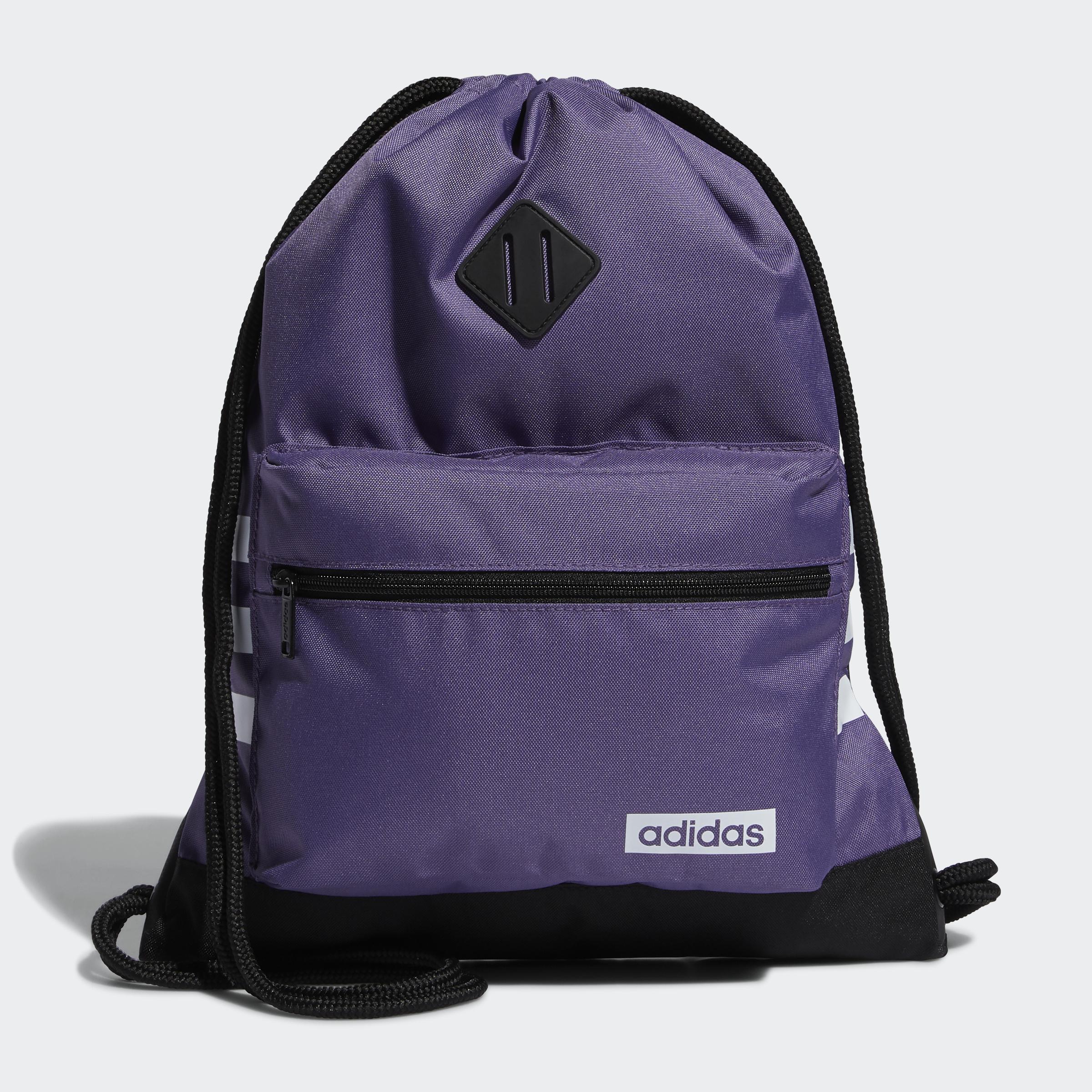 adidas-Classic-3-Stripes-Sackpack-Bags thumbnail 8