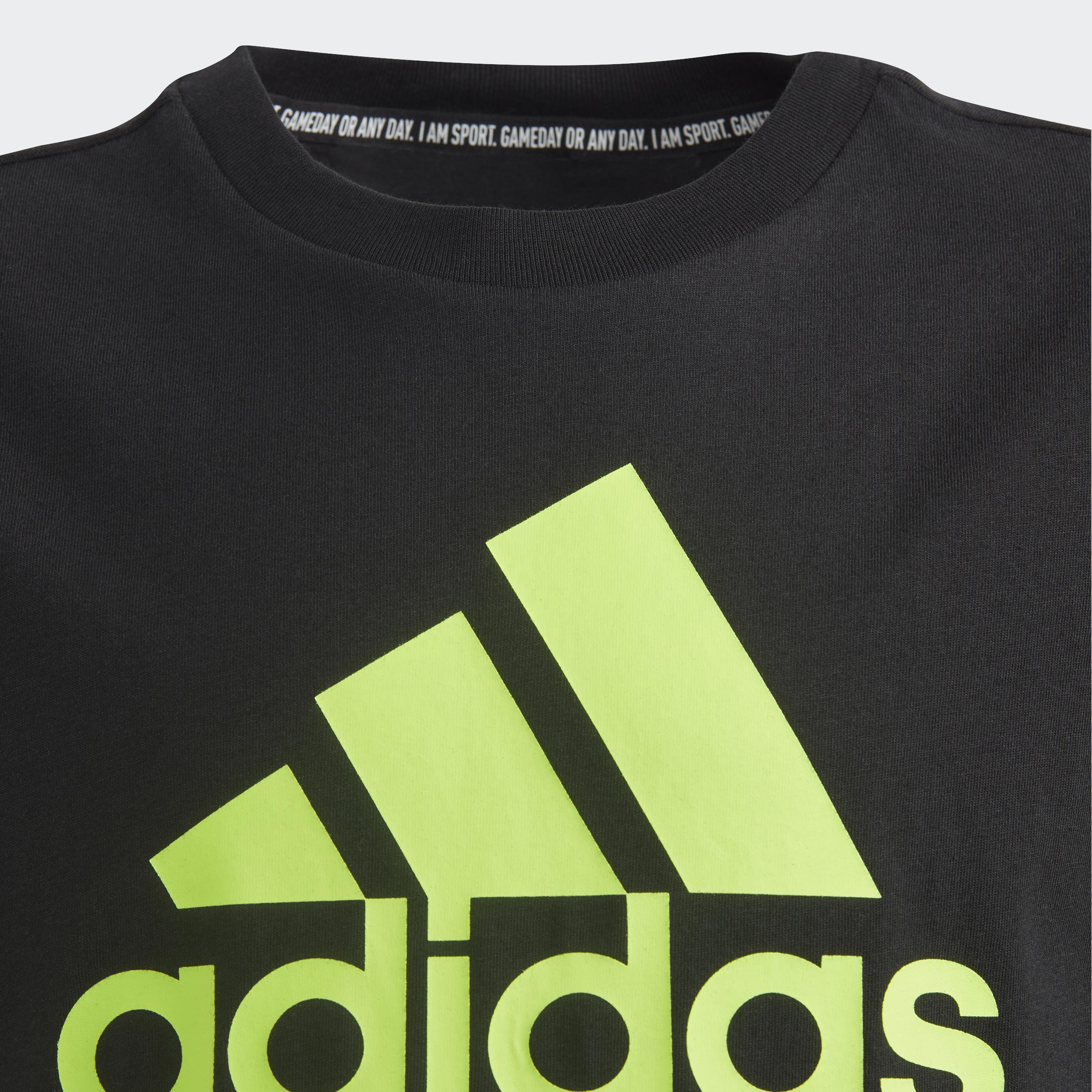 adidas-Must-Haves-Badge-of-Sport-Tee-Kids-039-Shirts thumbnail 30