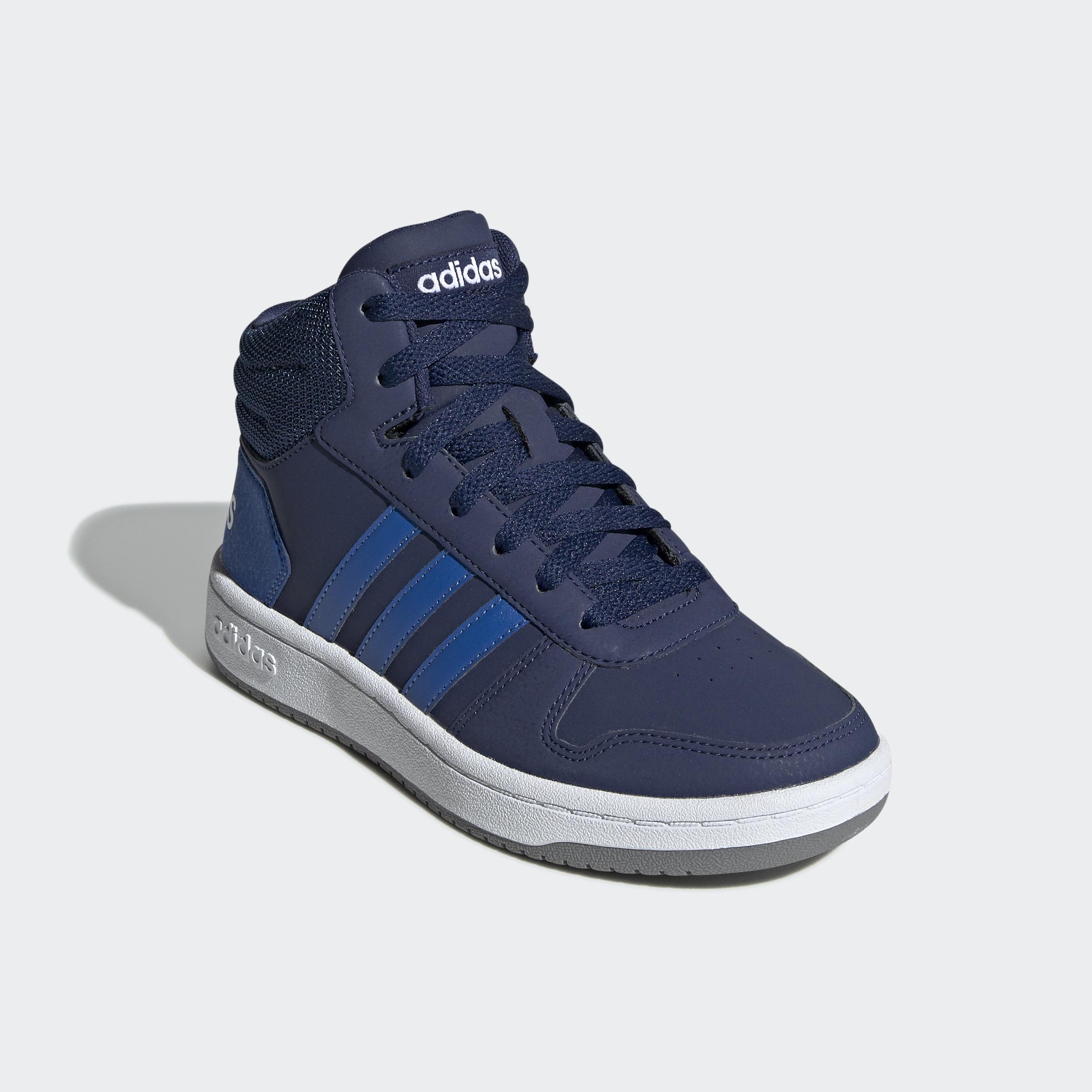 adidas-Hoops-2-0-Mid-Shoes-Kids-039-High-Tops thumbnail 15