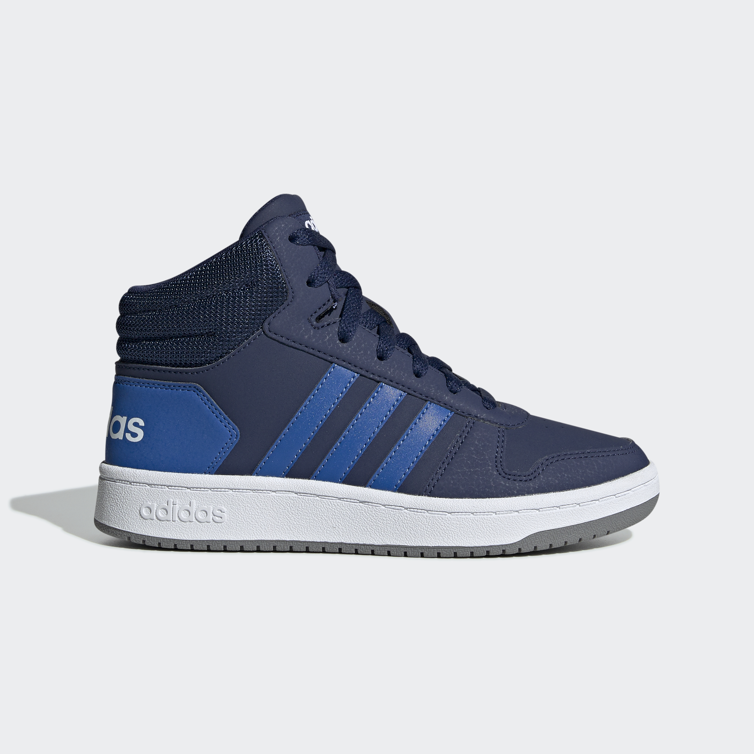 adidas-Hoops-2-0-Mid-Shoes-Kids-039-High-Tops thumbnail 16
