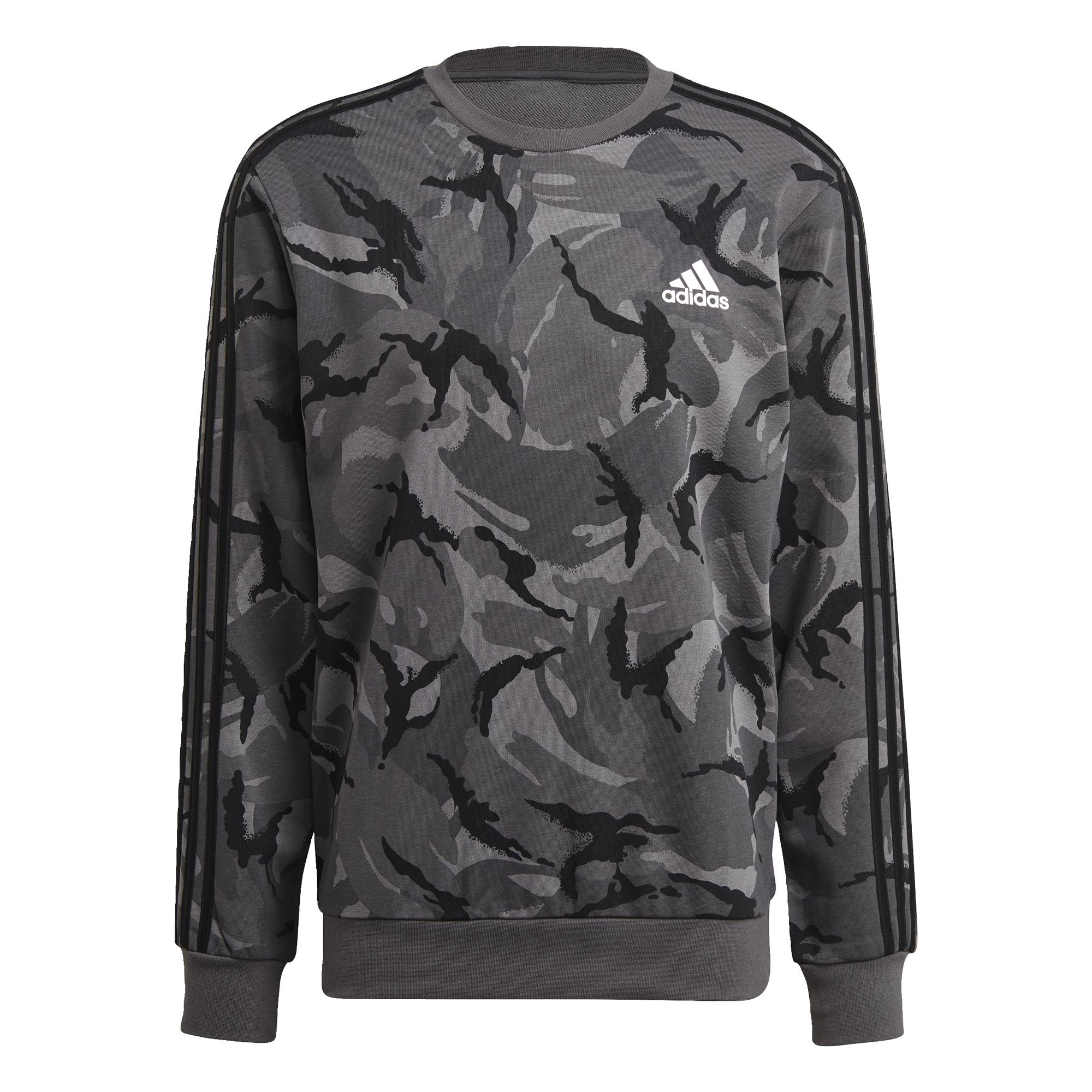 thumbnail 15 - adidas Essentials Camouflage Crew Sweatshirt Men's Sweatshirts
