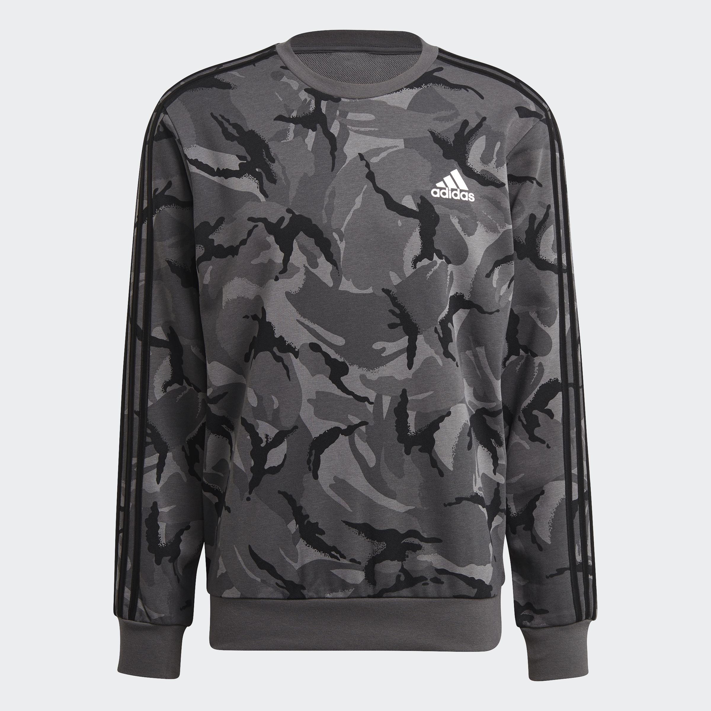 thumbnail 14 - adidas Essentials Camouflage Crew Sweatshirt Men's Sweatshirts