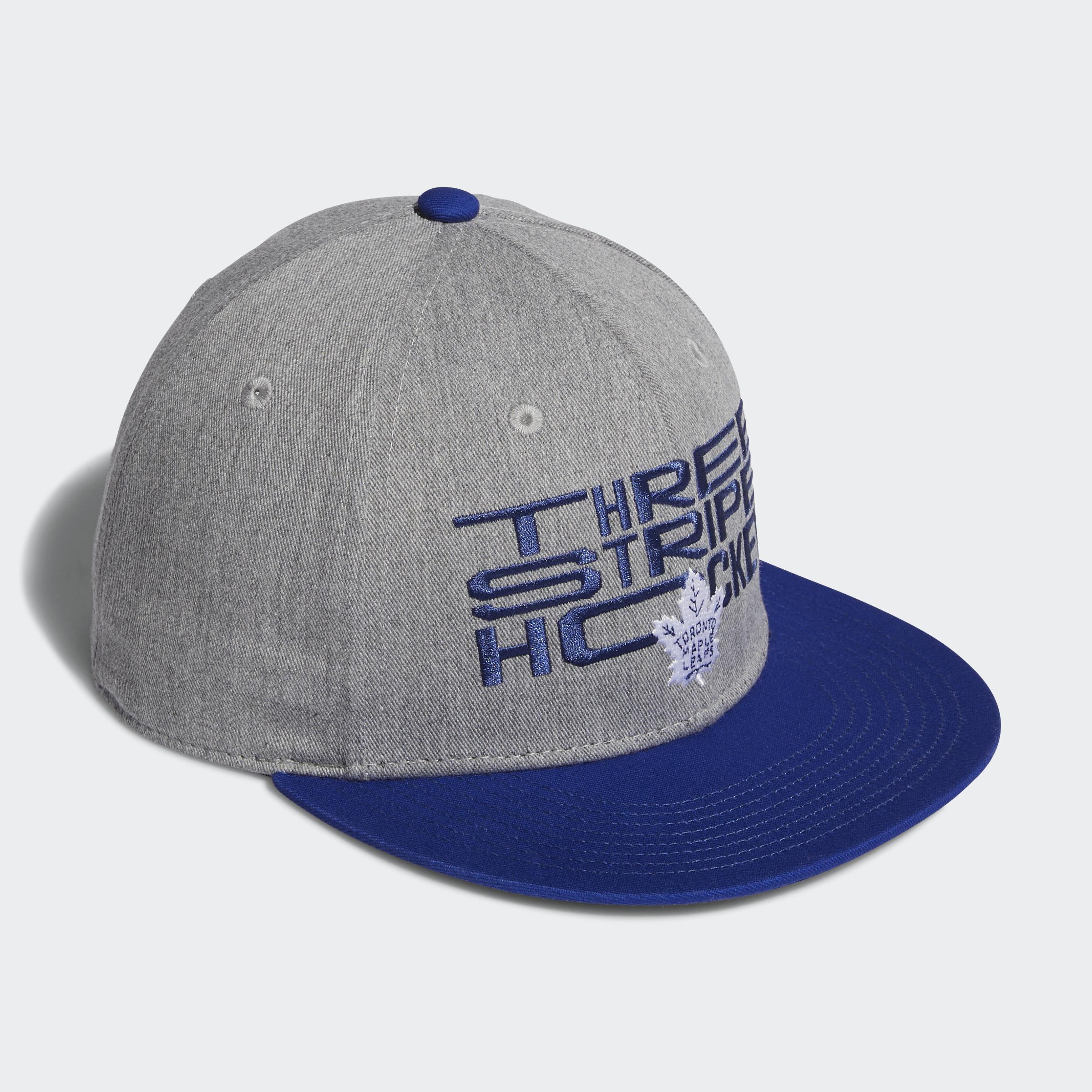 adidas-Vancouver-Canucks-Three-Stripe-Hockey-Snapback-Cap-Men-039-s-Hats thumbnail 13