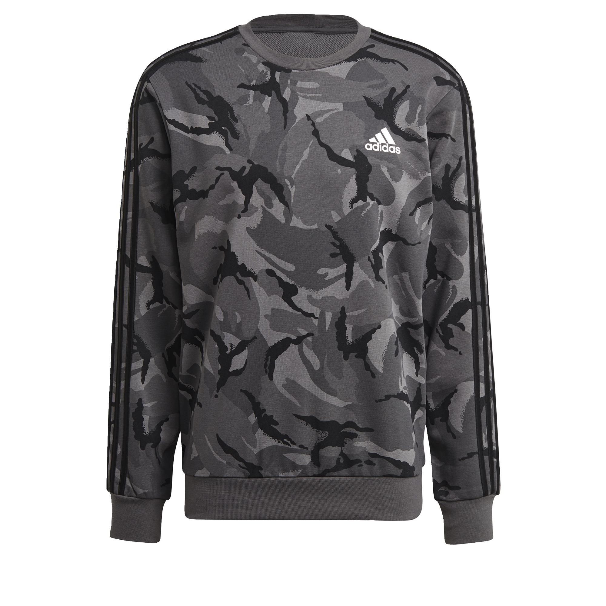 thumbnail 18 - adidas Essentials Camouflage Crew Sweatshirt Men's Sweatshirts